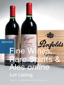 Fine Wines, Rare Spirits & Ales online. Lot Listing. Sale 2944T October 26 November 3, 2016
