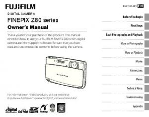 FINEPIX Z80 series Owner s Manual