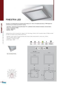 FINESTRA LED OPRAWY LED LED LIGHTING FIXTURES