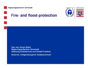 Fire- and flood-protection