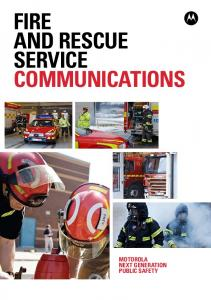 FIRE AND RESCUE SERVICE COMMUNICATIONS