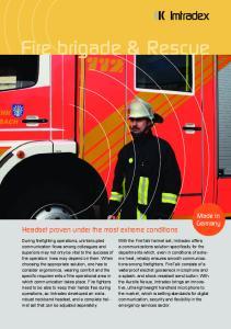 Fire brigade & Rescue