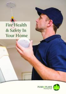 Fire Health & Safety In Your Home