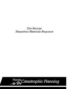 Fire Rescue: Hazardous Materials Response