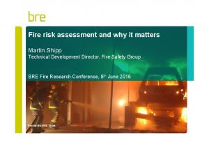 Fire risk assessment and why it matters