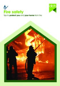 Fire safety Tips to protect you and your home from fire