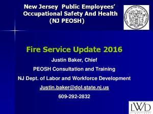 Fire Service Update 2016