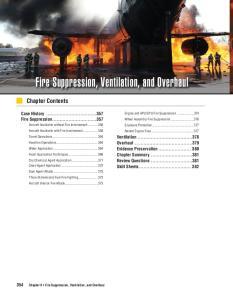 Fire Suppression, Ventilation, and Overhaul