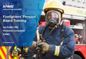 Firefighters Pension Board Training