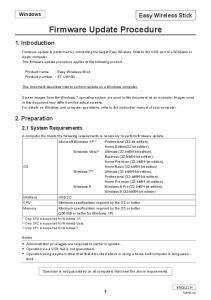 Firmware Update Procedure