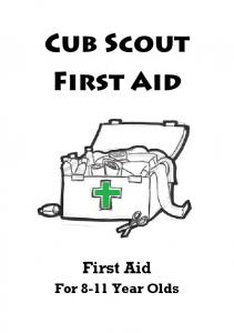 First Aid For 8-11 Year Olds