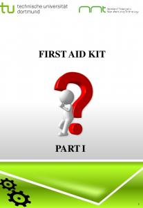 FIRST AID KIT PART I 1