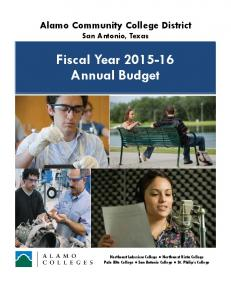 Fiscal Year Annual Budget