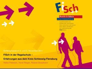 FiSch in der Regelschule Erfahrungen aus dem Kreis Schleswig-Flensburg
