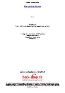 Fischer Klassik Der dunkle Schirm. Roman. Bearbeitet von Philip K. Dick, Christian Gasser, Karl-Ulrich Burgdorf, Alexander Martin