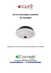 FISH-EYE HD-SDI CAMERA, 5 MEGAPIXEL ART. HDCAM360A