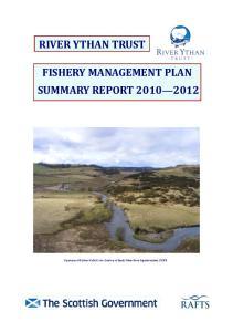 FISHERY MANAGEMENT PLAN SUMMARY REPORT