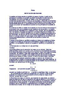Física ESTATICA DE LOS FLUIDOS
