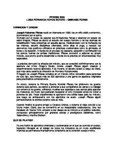 FITNESS 2005 LUISA FERNANDA HOYOS BOTERO GIMNASIO FORMA