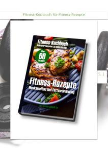 Fitness-Kochbuch für Fitness-Rezepte S. 1