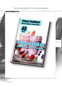 Fitness-Kochbuch für Fitness-Shakes S. 1