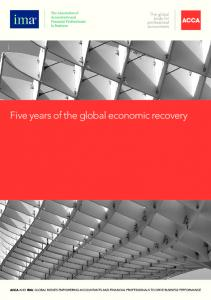 Five years of the global economic recovery