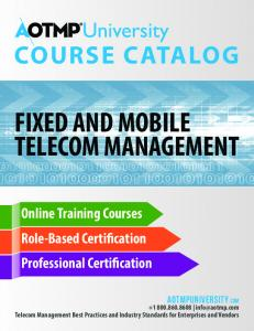 FIXED AND MOBILE TELECOM MANAGEMENT