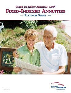 Fixed-Indexed Annuities Platinum Series