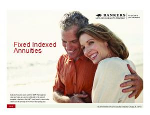 Fixed Indexed Annuities