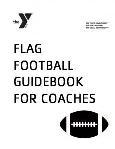FLAG FOOTBALL GUIDEBOOK FOR COACHES