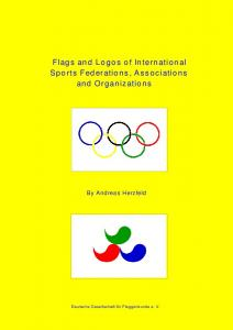Flags and Logos of International Sports Federations, Associations and Organizations