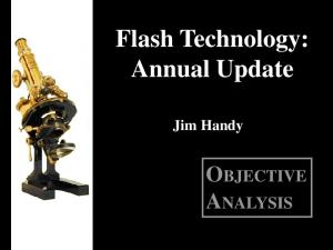 Flash Technology: Annual Update