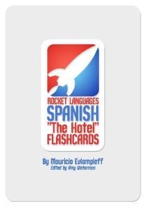 Flashcards Series 4 El Hotel