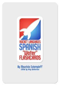 Flashcards Series 5 El Agua