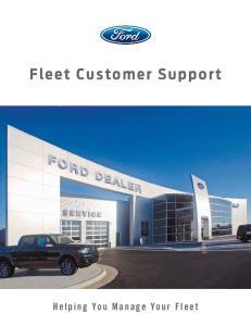 Fleet Customer Support
