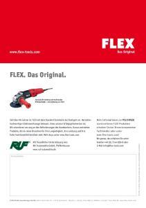 FLEX. Das Original