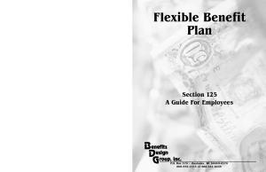 Flexible Benefit Plan
