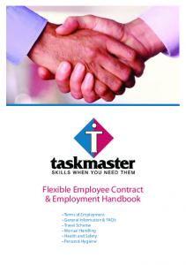 Flexible Employee Contract & Employment Handbook