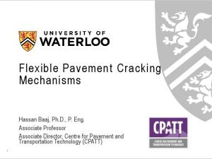 Flexible Pavement Cracking Mechanisms