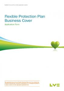 Flexible Protection Plan Business Cover
