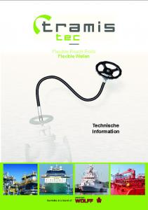 Flexible Reach Rods Flexible Wellen. Technische Information. ARMATUREN tramistec is a brand of