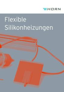 Flexible Silikonheizungen