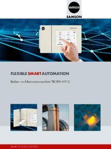 FLEXIBLE SMART AUTOMATION