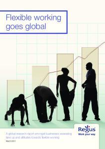 Flexible working goes global