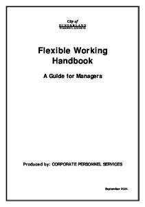 Flexible Working Handbook