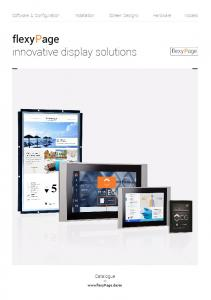 flexypage innovative display solutions