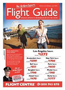 Flight Guide. Los Angeles Return. Discount airfares to destinations all over the world. Amsterdam Return. New York Return. Bali Return