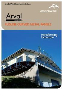 FLOLINE CURVED METAL PANELS