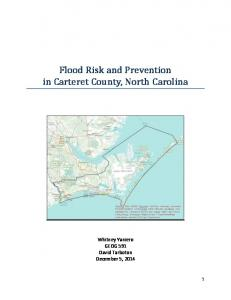 Flood Risk and Prevention in Carteret County, North Carolina