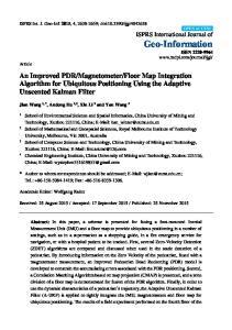 Floor Map Integration Algorithm for Ubiquitous Positioning Using the Adaptive Unscented Kalman Filter